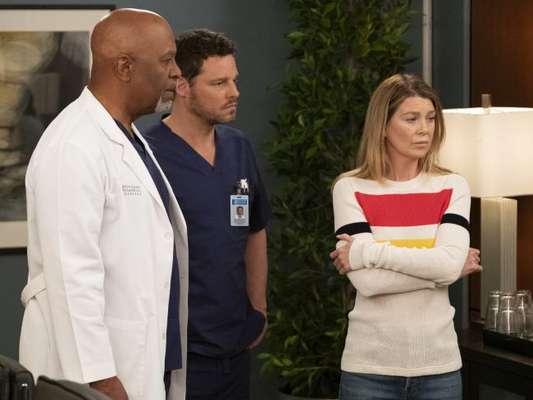 """""""Grey's Anatomy"""": 16ª temporada não será fácil para Meredith (Ellen Pompeo), Richard (James Pickens Jr.) e Alex (Justin Chambers)"""