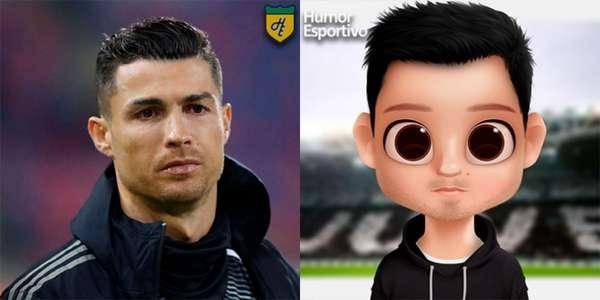 Avatar dos jogadores: Cristiano Ronaldo