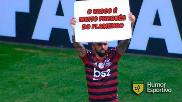 Os melhores memes de Vasco 1 x 4 Flamengo