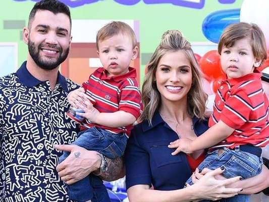 Gusttavo Lima decide detalhes da criação dos filhos junto com Andressa Suita