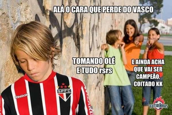 Brasileirão: os memes de Vasco 2 x 0 São Paulo