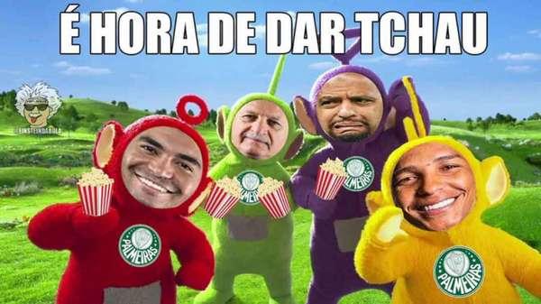 Zoeira na web: os memes da eliminação do Palmeiras na Libertadores