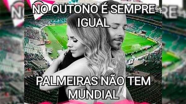 Show de Sandy & Júnior gera piadas após eliminação do Palmeiras