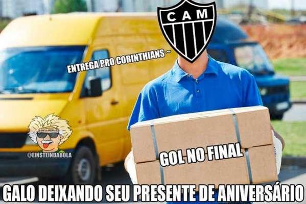Brasileirão: os memes de Corinthians 1 x 0 Atlético-MG