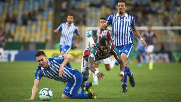 Confira a seguir a galeria especial do LANCE! com as imagens da vitória do Avaí sobre o Fluminense nesta segunda