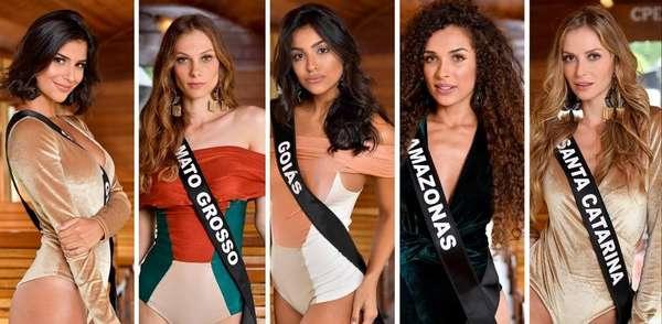 Miss Brasil 2019 - O Miss Brasil 2019 ocorre neste sábado a partir das 22h no São Paulo Expo, e contará com transmissão ao vivo pela Band. Ao todo, serão 27 participantes - uma para cada Estado - disputando a coroa do concurso de beleza. Confira todas elas a seguir.