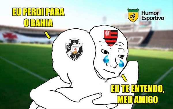 Brasileirão: os memes de Vasco 0 x 2 Bahia