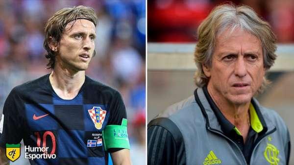 Sósias do futebol: Luka Modric e Jorge Jesus