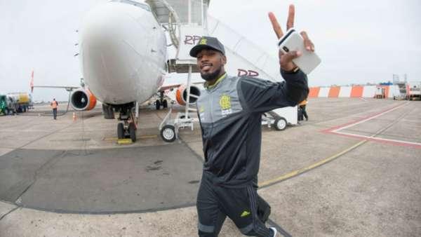 Confira imagens de Gerson pelo Flamengo