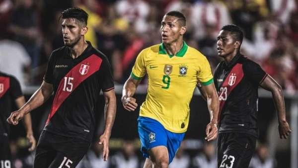 Confira a seguir a galeria especial do LANCE! com imagens da derrota do Brasil para o Peru nesta quarta-feira
