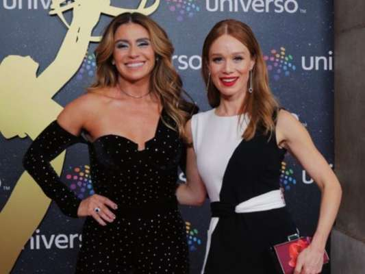 As atrizes Giovanna Antonelli e Mariana Ximenes escolheram produções com toque clássico e moderno para premiação em Portugal nesta sexta-feira, dia 13 de setembro de 2019