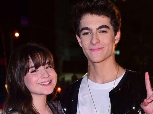 Sophia Valverde foi tietada pelo namorado, Lucas Burgatti, durante show no Ceará: 'Meu coração é seu'