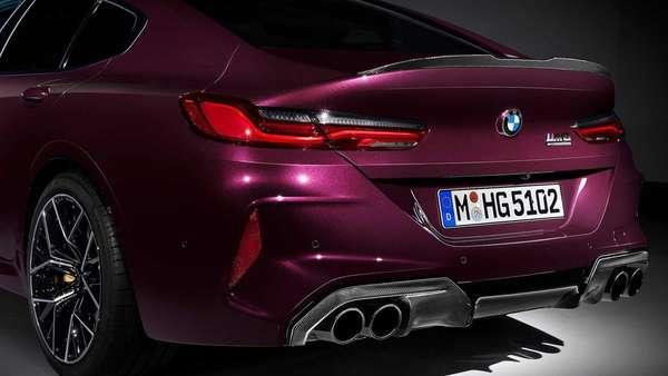 BMW M8 Competition Gran Coupé.