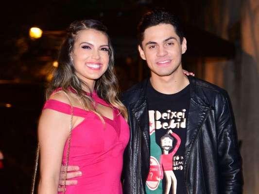Lucas Veloso e Nathalia Melo terminam namoro