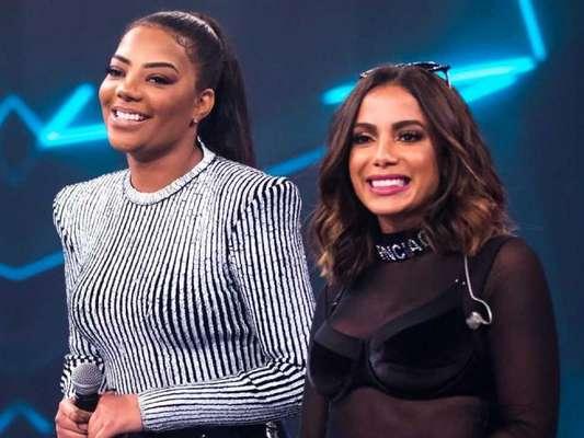 Globo repercute briga de Anitta e Ludmilla ao vivo na TV, no programa 'Se Joga'