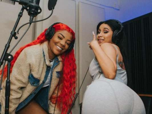 Ludmilla tem primeiro encontro com Cardi B e grava feat com a rapper americana