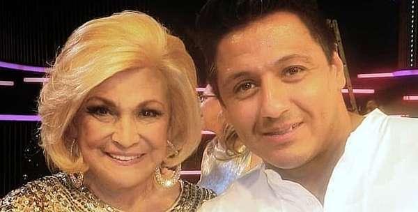 Edu Sacchiero e Hebe Camargo foram inseparáveis por mais de uma década.
