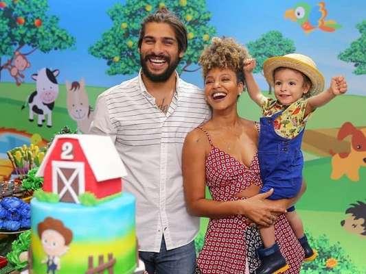 Sheron Menezzes comemora os 2 anos do filho, Benjamin, com festa, em 20 de outubro de 2019