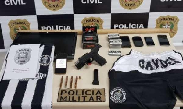 Operação Hooligan na sede da Gaviões Alvinegros