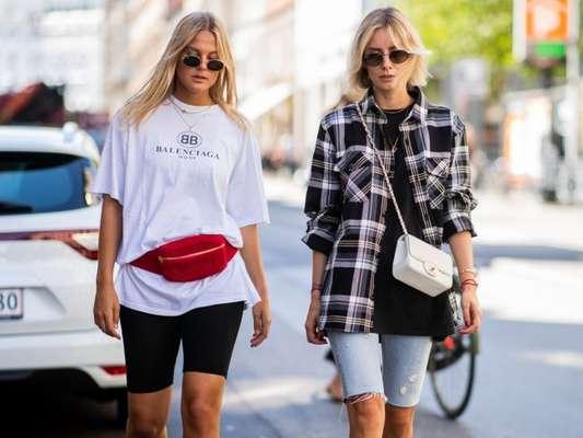 Tendência na moda: como usar bermuda jeans, ciclista e em mais opções de tecido no verão. Veja em 12 fotos!