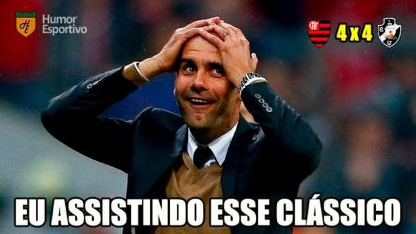 Brasileirão: os memes de Flamengo 4 x 4 Vasco da Gama