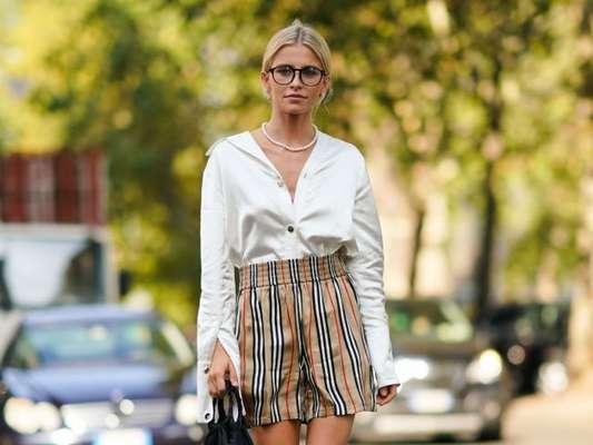 Moda no verão: camisa social, lenço e mais peças 2 em 1 para usar na estação com muito estilo. Fotos!