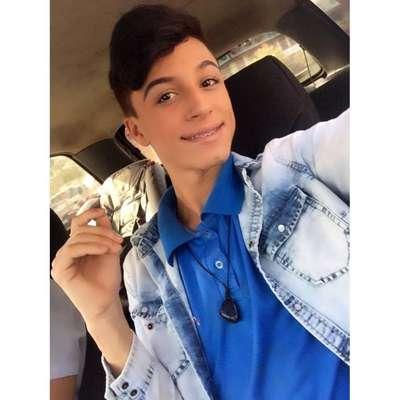 Vítima do assassinato - Internautas prestaram solidariedade ao jovem nas redes sociais