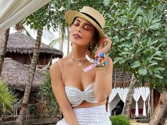 Inspire-se nos looks das famosas com biquíni para usar depois da praia!