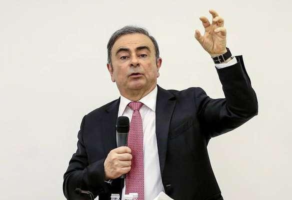 Ghosn processa Renault para receber aposentadoria