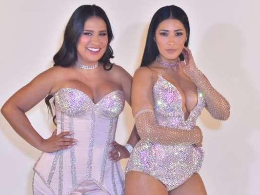 Simone e Simaria gravam o 'Bar das Coleguinhas 2', realizado no Villa Country, em São Paulo, na noite desta quarta-feira, 12 de fevereiro de 2020