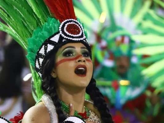 Mileide Mihaile encarou dieta de 30 dias para estrear no carnaval do Rio como musa da Grande Rio, nesta segunda-feira, 24 de fevereiro de 2020: 'Dieta bem voltada para a preparação física e tonificação da musculatura'