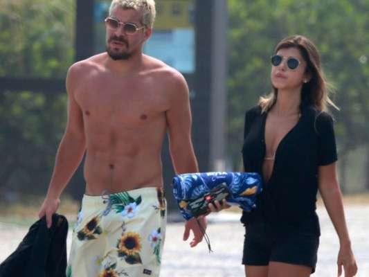 Thiago Martins assume namoro com Talita Nogueira e diz: 'Estamos felizes' (24 de fevereiro de 2020)
