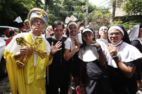 Bloco das Carmelitas agitou Rio de Janeiro.