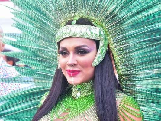 Carnaval: Juju Salimeni relatou tristeza com rebaixamento da X-9 Paulistana para o Grupo de Acesso: 'Escola foi prejudicada'
