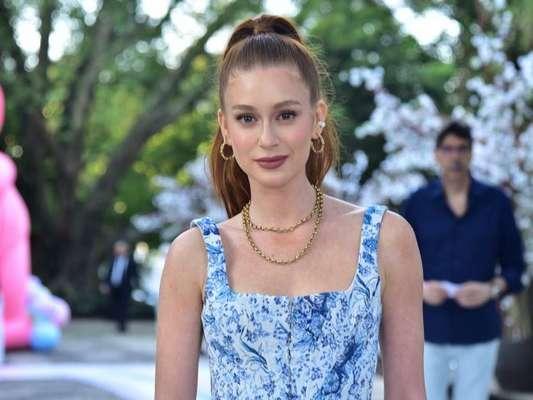Marina Ruy Barbosa levanta rumores de gravidez após comentário em foto do marido, em 17 de maio de 2020