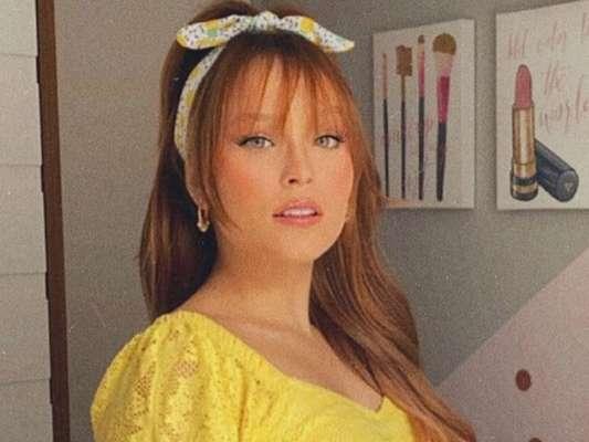 Larissa Manoela é comparada à Duda Reis em foto, em 23 de maio de 2020