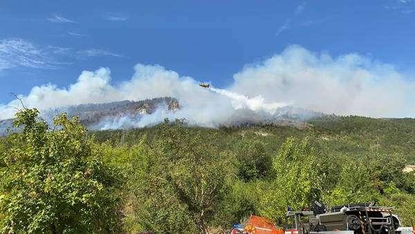 Incêndios atingem região de Abruzzo, na parte central da Itália