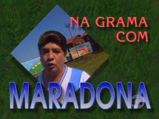 Bussunda - Uma de suas imitações mais lembradas era a de Maradona.