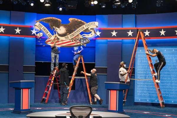 Debate entre Trump e Biden deve opor ainda mais os candidatos dos dois partidos
