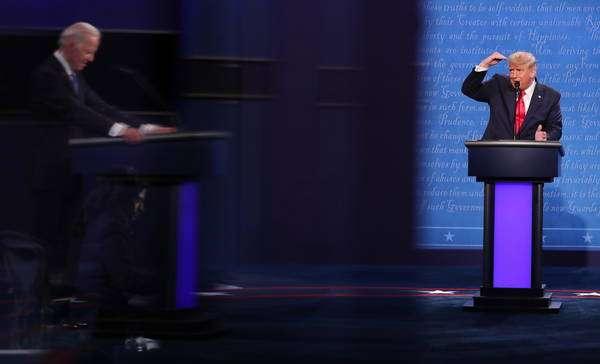 Trump e Biden fizeram último debate antes das eleições de 3 de novembro
