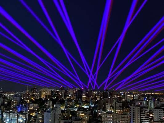 Alok iluminou os céus de Porto Alegre no dia 1/11.