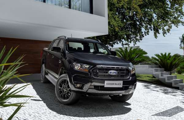 Ford Ranger Black 2021.