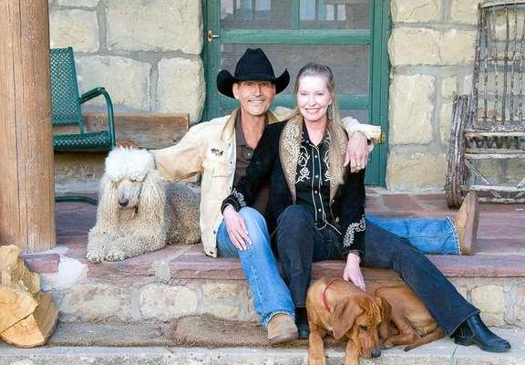 Patrick e Lisa viveram juntos de 1975 até a morte do ator, em 2009