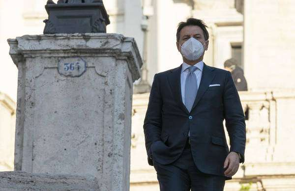 Giuseppe Conte está no meio de uma crise política na Itália