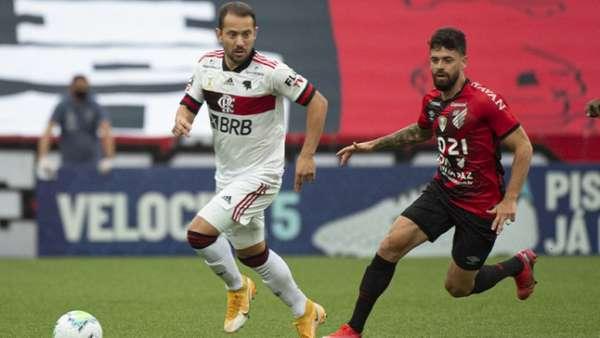 Athletico PR 2 x 1 Flamengo: as imagens da partida