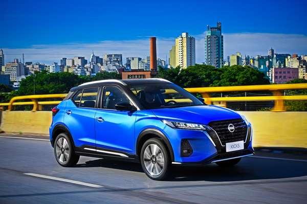 Novo Nissan Kicks Exclusive 1.6 CVT 2022.