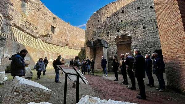 Mausoléu de Augusto passou por ampla reforma de 10 milhões de euros