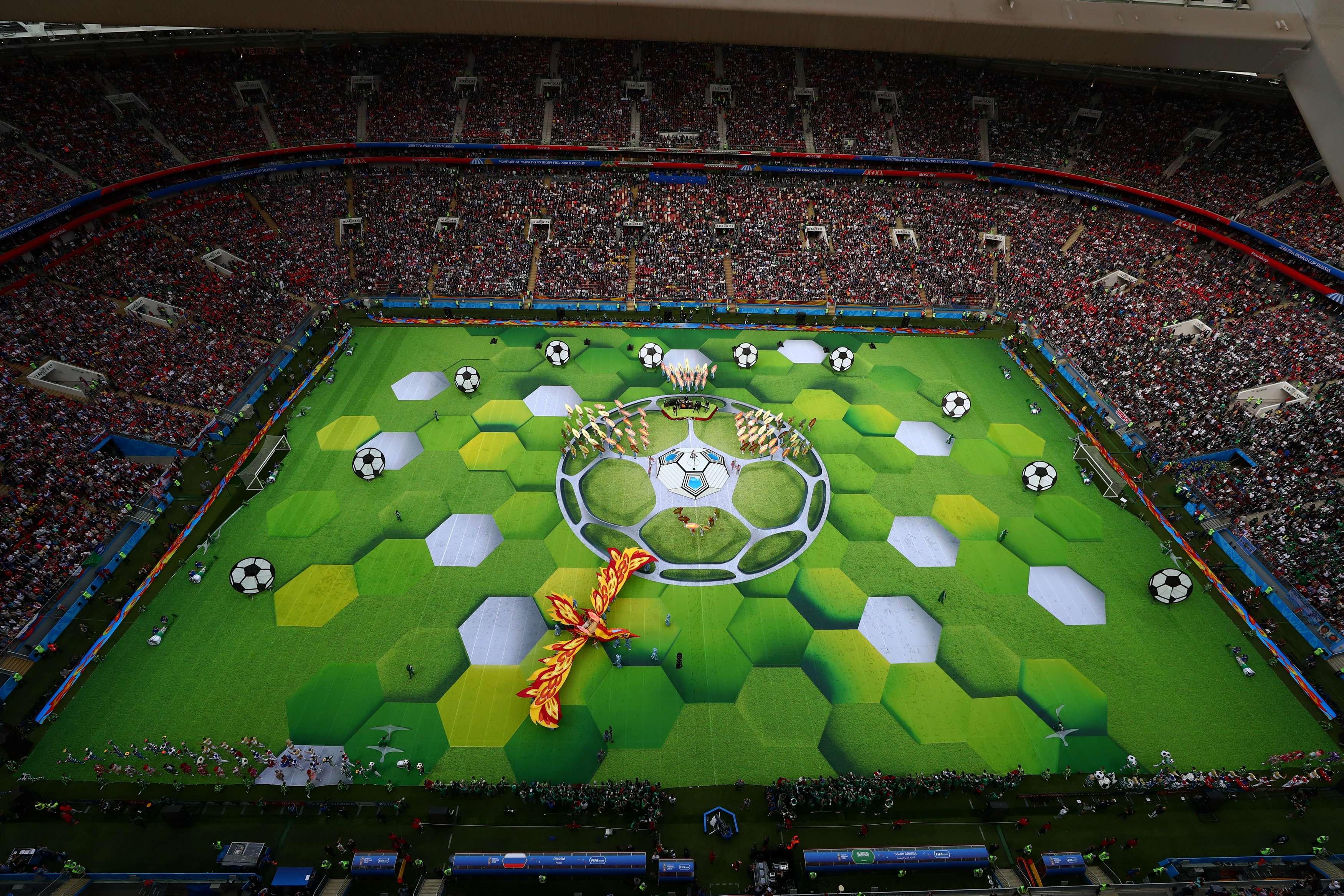 Cerimônia de Abertura da Copa 2018 - Futebol