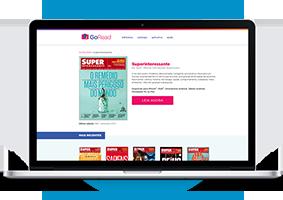 Se preferir, basta fazer login em nosso site e ler online