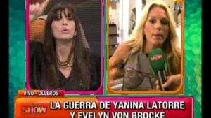Sigue la guerra: Edith Hermida bancó a Evelyn y Yanina estalló
